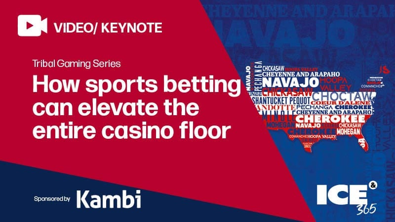 ICE 365 TGS - How sports betting can elevate the entire casino floor