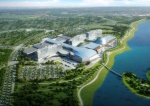 A rendering of Mohegan Gaming & Entertainment's Inspire Korea