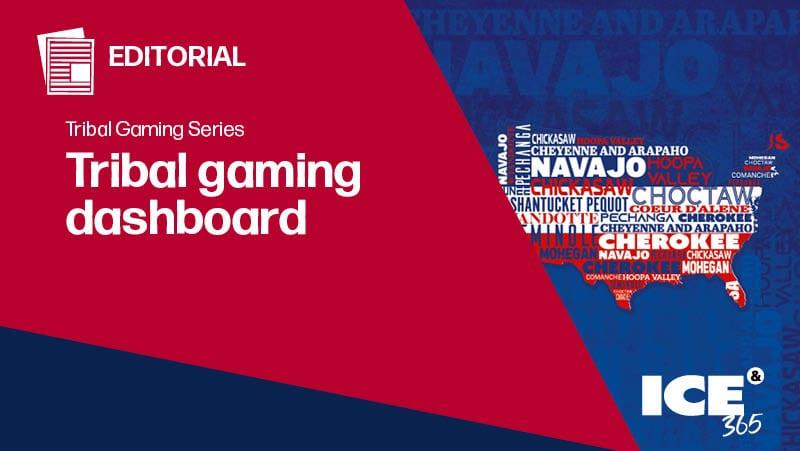 ICE 365 Tribal gaming dashboard