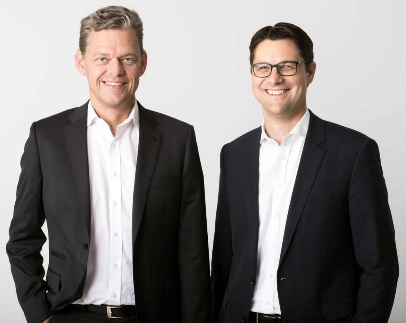 Axel Holthaus und Sven Osthoff - Geschäftsführer Toto-Lotto Niedersachsen