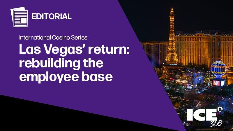 Las Vegas' return: Rebuilding the employee base