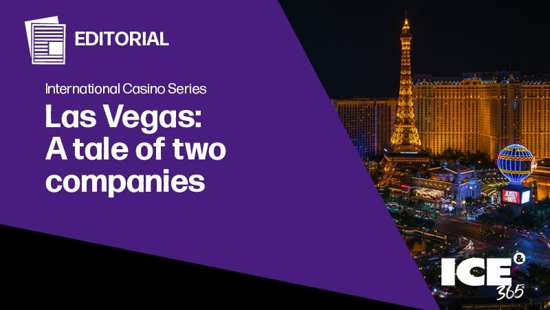 ICE365 - Las Vegas: A tale of two companies