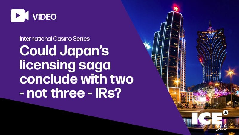 ICS - Could Japan's licensing saga conclude with two - not three - IRs?