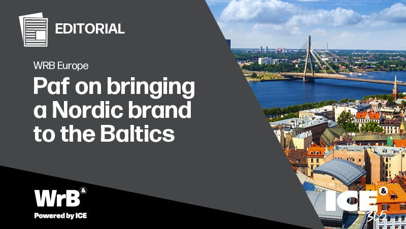 WRB Europe - Paf on bringing a Nordic brand to the Baltics
