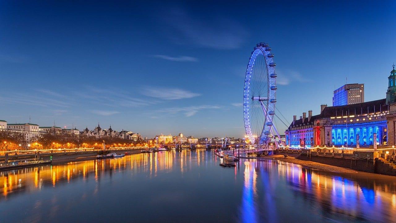 London Eye, River Thames