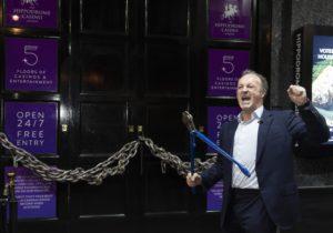 Simon Thomas reopens the Hippodrome