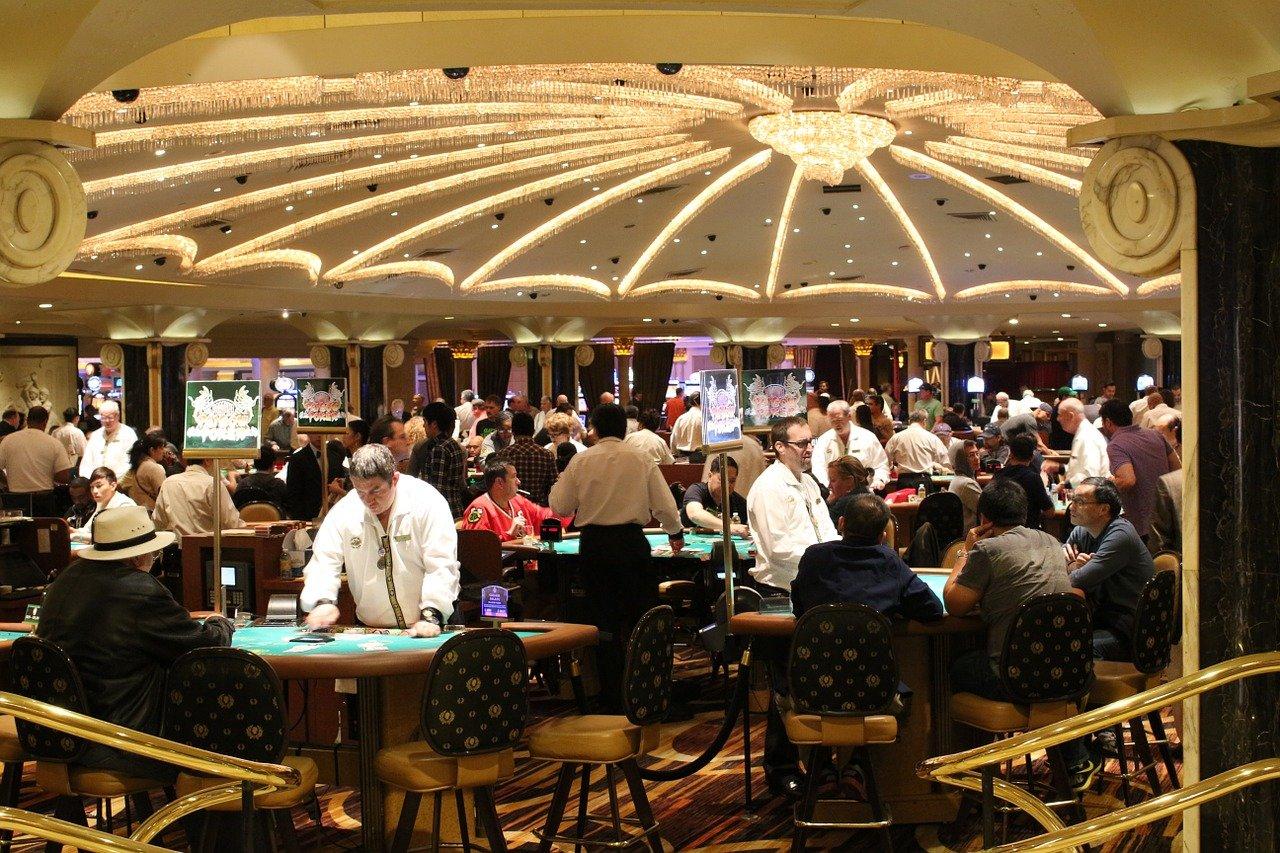 Land-based casino gaming floor