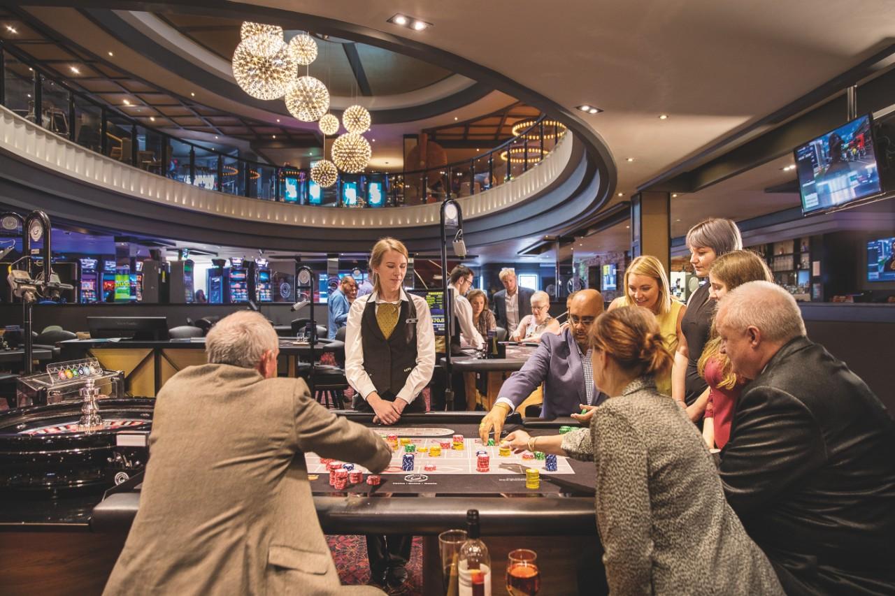 Players in Rank's Grosvenor Casino